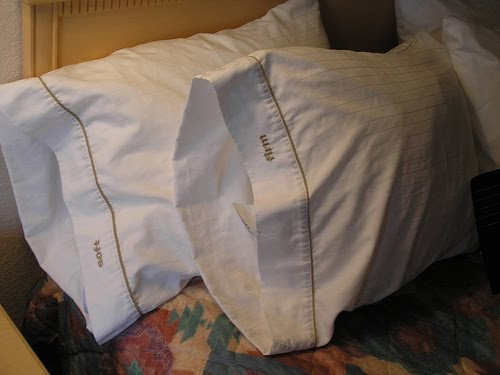 Jandee crafts christmas pillow case poem for White craft pillow cases