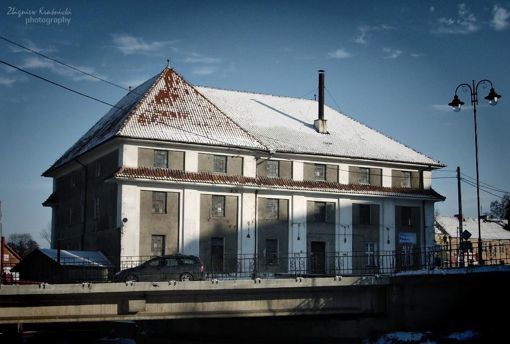 Lidzbark Warmiński. Budynek dawnego młyna