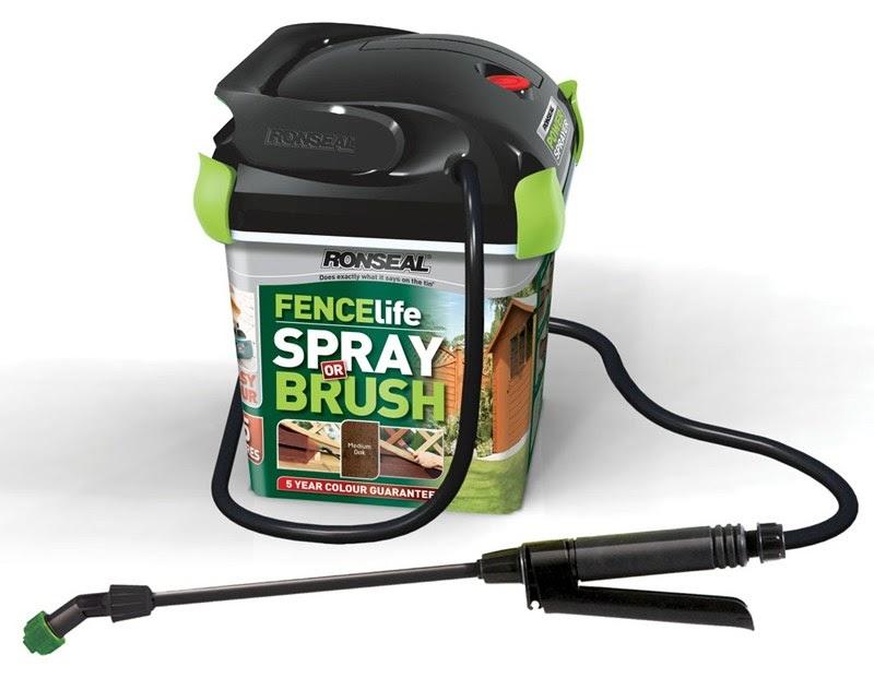 Ronseal Power Sprayer - Fence Spraying Made Easy