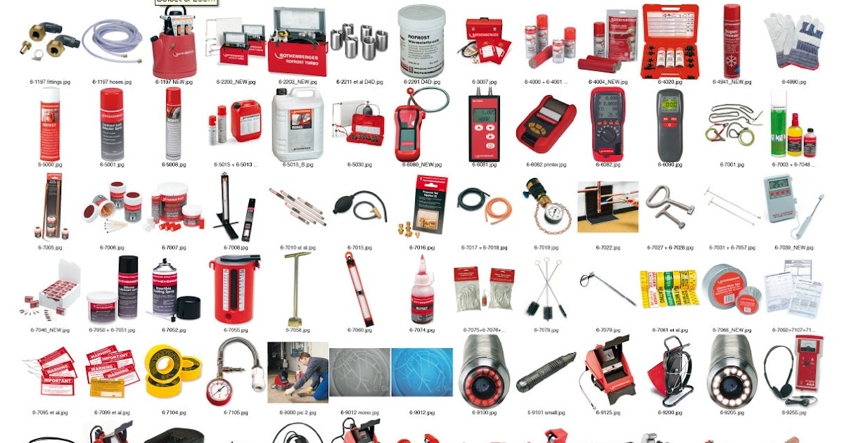 Rothenberger Plumbing Tools