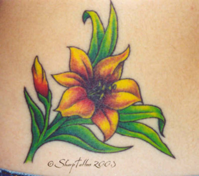 Lotus Flower Tattoo lily and plumerias Tattoos - Floral Tattoos - Fotopedia