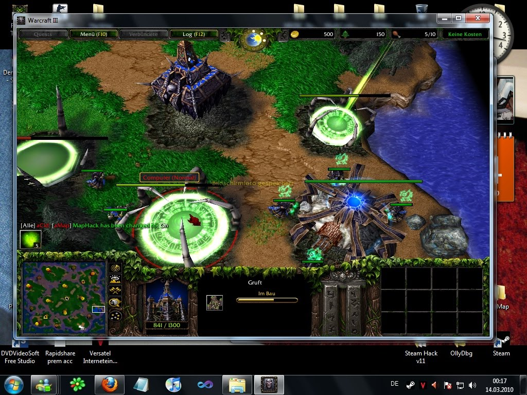 Warcraft 3: Reign of Chaos v1.24d Full Patch.