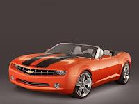 Carro Chevrolet Camaro Conversível Conceito