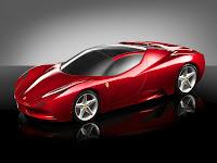 Ferrari Esportivo Conceito  Fundo De Tela Papel Parede