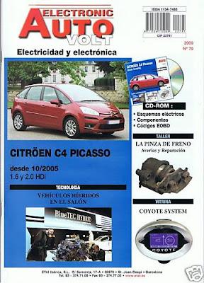 Manual eléctrico C4 Picasso