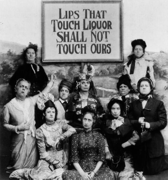 Aquellos labios que prueben el alcohol, no probarán los nuestros