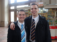 With Elder Jared Egan
