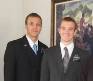 with Elder Christensen