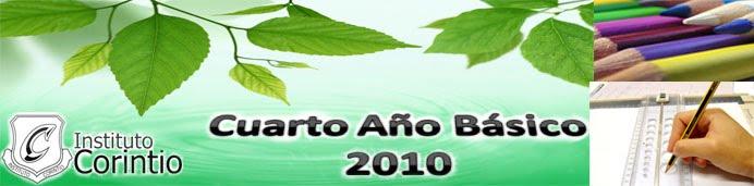 CUARTO AÑO BASICO 2010