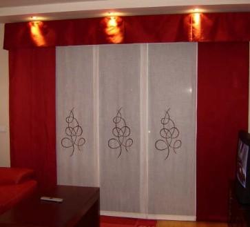 Decoracion de hogar paneles japoneses for Telas para paneles japoneses