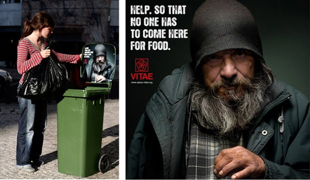 helping homeless. B: Helping homeless people