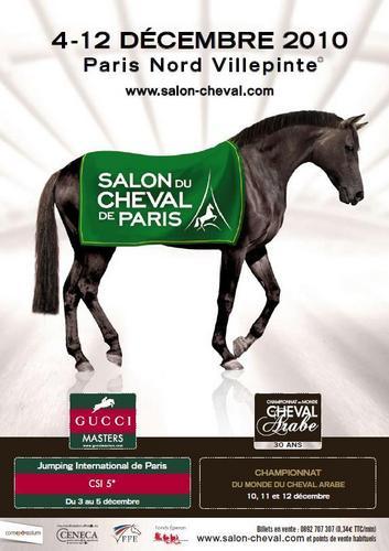 Nibelle et baudouin salon du cheval 2010 parc des - Salon au parc des expositions villepinte ...