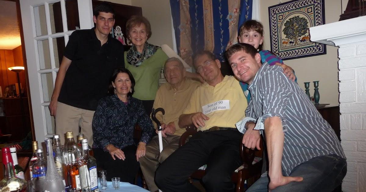 Bens Journal Celebrating Grandpas 90th
