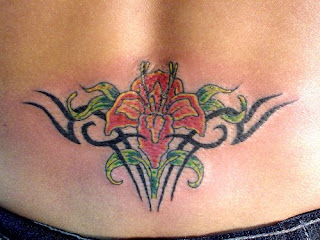 Sexy Girls With Lower Back Tattoo Designs Especially Lower Back Flower Tattoo Picture 6