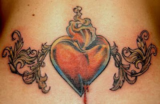Sexy Girls With Lower Back Tattoo Designs Especially Lower Back Heart Tattoo Picture 2
