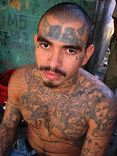 Gang Tattoos Especially Face Gangsta Tattoo Designs With Image Men With Face Gang Prison Tattoo Picture 8