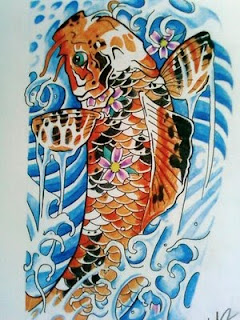 Japanese Tattoos With Image Japanese Koi Fish Tattoo Designs 5
