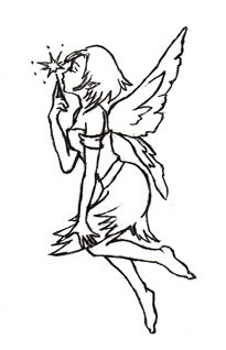 Fairy Tattoo Designs 1
