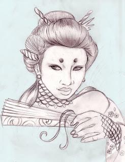 Japanese Tattoos, Tattoo Designs, Geisha Tattoos, Japanese Geisha Tattoo