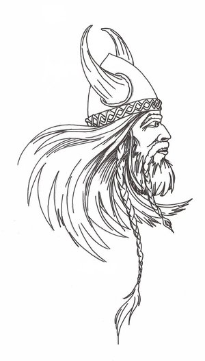 Viking Tattoo Design Picture 4