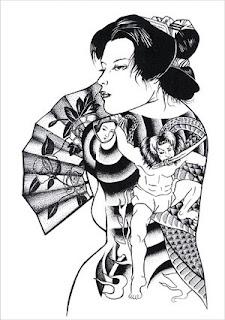 Simple Tattoo Gallery: Simple Japanese Tattoos Especially Geisha ...