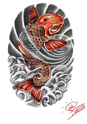 Best tatto design japanese koi fish tattoo designs gallery for Japanese koi names