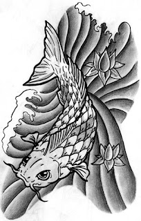 Simple Tattoo Gallery: Simple Japanese Tattoos Especially Koi Fish ...