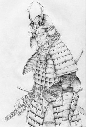 Free Japanese Samurai Tattoo Design Picture 3