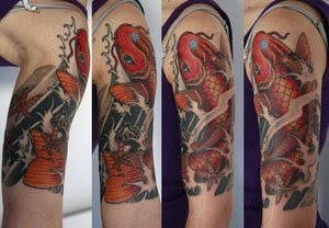Shoulder Japanese Tattoos Especially Koi Fish Designs With Image Shoulder Japanese Koi Fish Tattoo For Male Tattoo Gallery Picture 5
