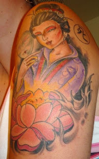 Japanese Tattoos Especially Geisha Tattoo Designs With Image Shoulder Japanese Geisha Tattoo For Female Tattoos Gallery Picture 4