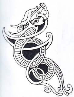 Celtic Tattoo Ideas With Viking Dragon Tattoo Designs With Image ...