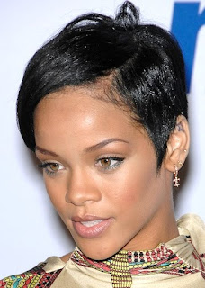 Celebrity Hair Styles With Image Rihanna's Short Hairstyle Gallery Picture 3