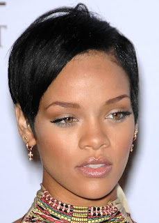 Celebrity Hair Styles With Image Rihanna's Short Hairstyle Gallery Picture 2