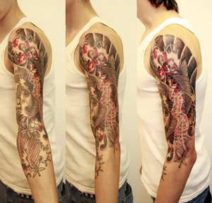 Arm Japanese Tattoo Ideas With Koi Fish Tattoo Designs With Picture Arm Japanese Koi Fish Tattoo Gallery 3