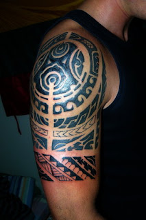 Tribal Tattoo Picture With Shoulder Polynesian Tattoo