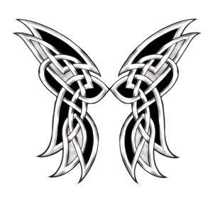 Celtic Tattoo With Butterfly Tattoo Design With Image Celtic Butterfly Tattoo