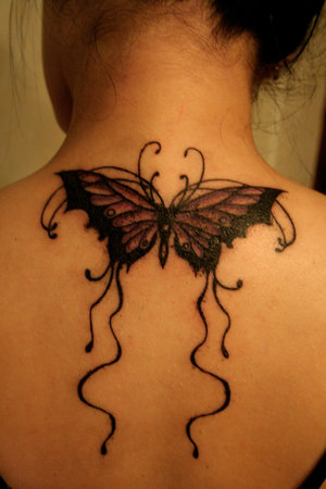 female back tattoo. Perfect Women Tattoo With