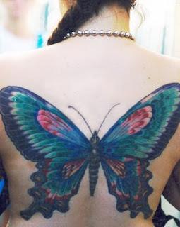 Butterfly Tattoo  Women-43