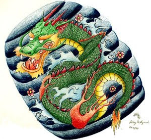 Japanese Tattoo Ideas With Japanese Dragon Tattoo Designs Gallery 2