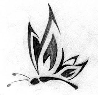 Tribal Tattoo Ideas Especially Butterflies Tattoo Designs With Picture Tribal Butterflies Tattoo Gallery 6