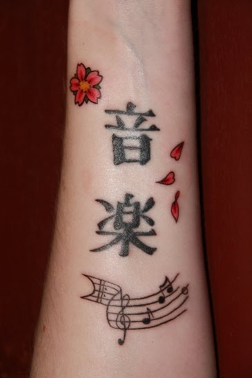 Cool Japanese Cherry Blossom Tattoo On Wrist Picture 4