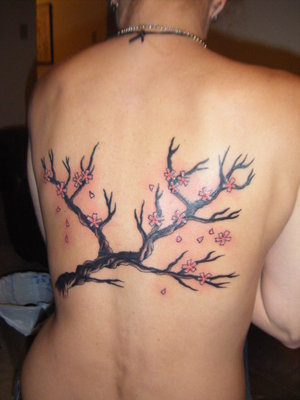 Japanese Tattoos - Japanese Cherryblossom Tattoo