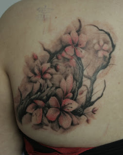 Upper Back Japanese Tattoos With Image Cherry Blossom Tattoo Designs Especially Upper Back Japanese Cherry Blossom Tattoos For Female Tattoo Gallery 3