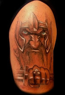 Shoulder Tattoo Ideas With Viking Tattoo Designs With Picture Shoulder Viking Tattoo Gallery 2