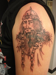 Shoulder Viking Tattoo Design 9