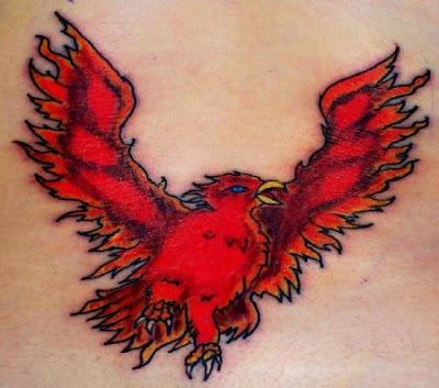 Phoenix Bird Tattoo 5