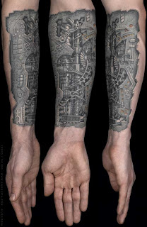 the amazing design 3d arm tattoo with image biomecharm tattoo