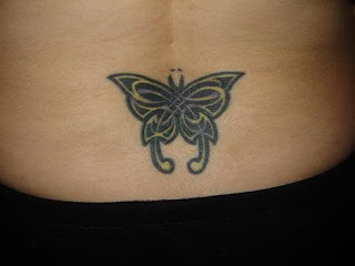 Lower Back Tattoos With Image lower Back Butterflt Tattoo Designs With Tribal Butterfly Tattoo Picture 2