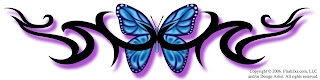 Lower Back Tattoos With Image Lower Back Butterfly Tattoo Designs With Butterfly Tribal Tattoo Picture 7