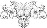 Lower Back Tattoos With Image Tattoo Designs Butterfly Tattoo Picture 5